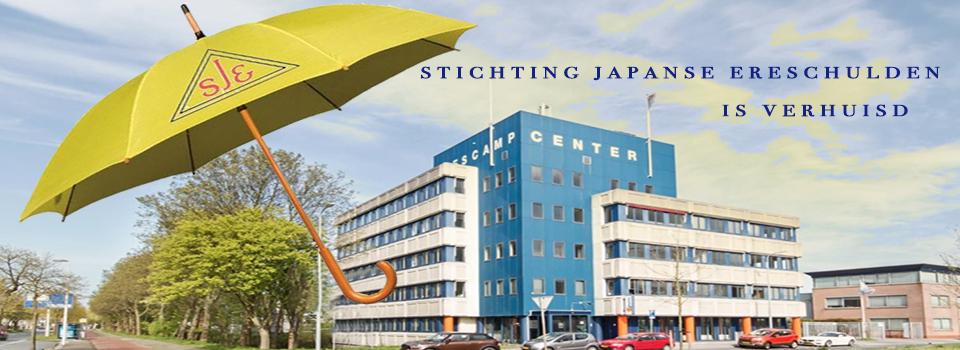 Het nieuwe onderkomen van Stichting Japanse Ereschulden per 01-02-2019